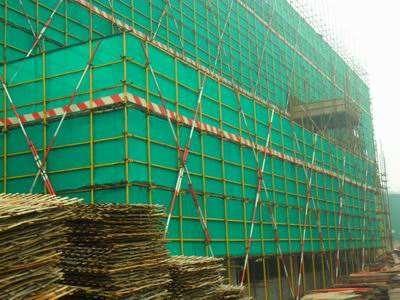巴南区房屋地基主体钢管脚手架搭建